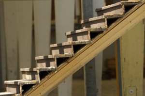 Abgenutzte-Treppen