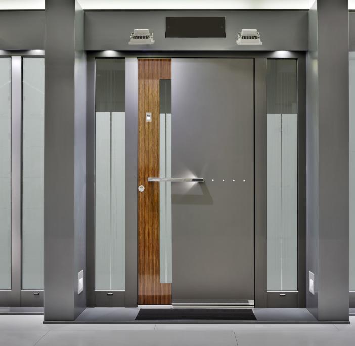 moderne aluminium haust ren. Black Bedroom Furniture Sets. Home Design Ideas