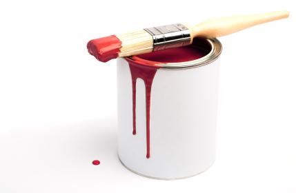 so reinigt man rolle pinsel von der wandfarbe am besten. Black Bedroom Furniture Sets. Home Design Ideas