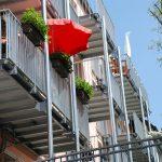 Balkone stehen für mehr Wohnraum